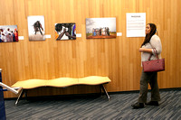 "Opening reception for photo group exhibit ""Provocateurs"""