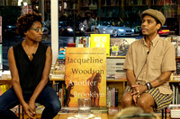 With Jacqueline Woodson at Greenlight Books